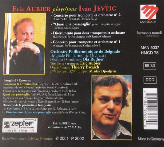 Eric Aubier plays Ivan Jevtic