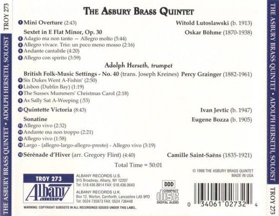 The Asbury Brass Quintet