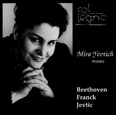 Beethoven, Franck, Jevtic - Mira Yevtich