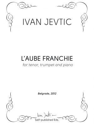 L'AUBE FRANCHIE