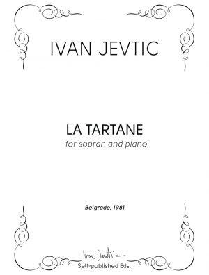 LA TARTANE